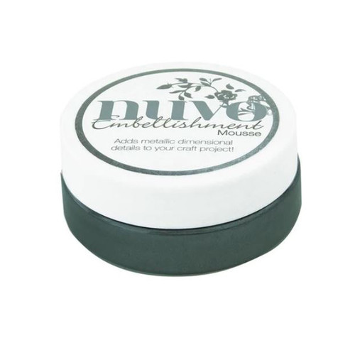 Nuvo Embellishment Mousse: Black Ash