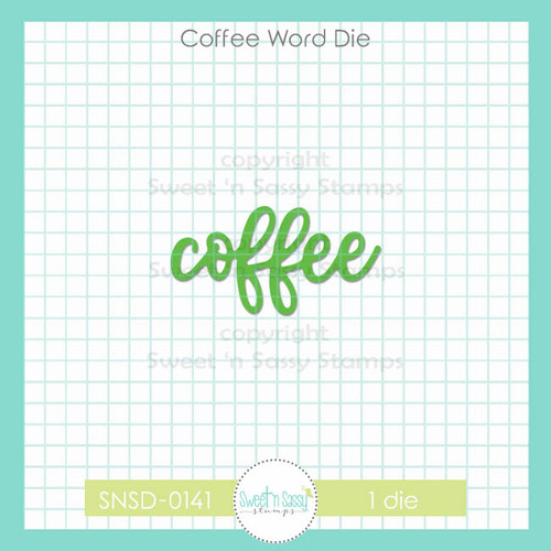 Coffee Word Die