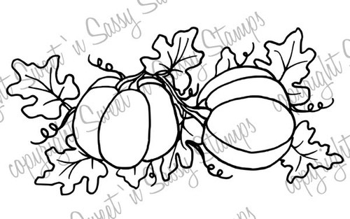 Pumpkin Patch Digi Stamp