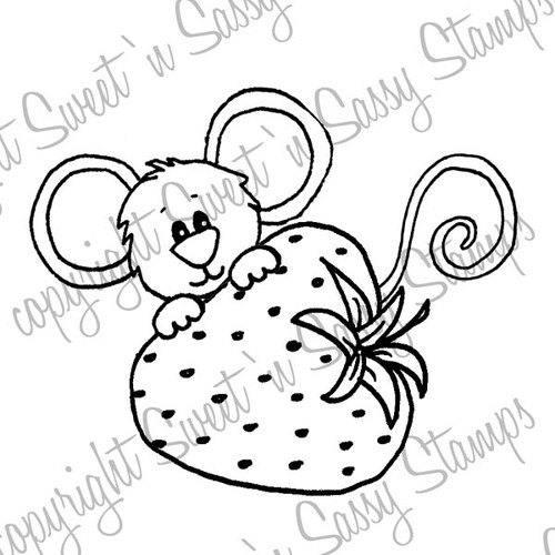 Berry Sweet Cocoa Digital Stamp