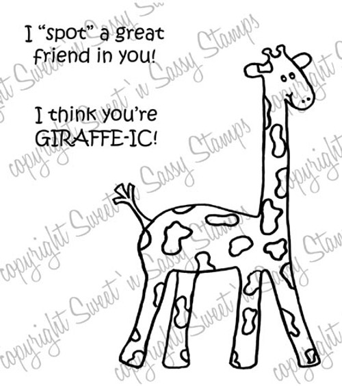 You're Girrafe-ic Digital Stamp