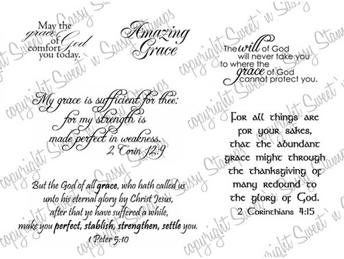Amazing Grace Digital Stamp
