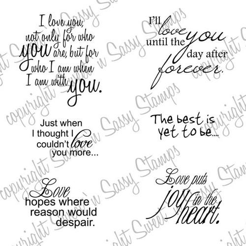 Love Sentiments Digital Stamp