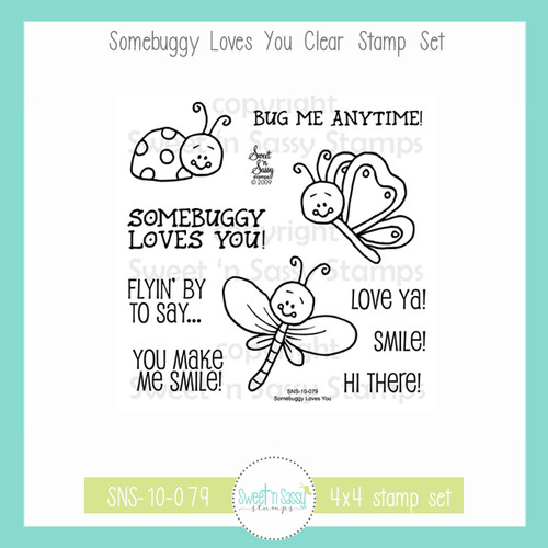 Somebuggy Loves You Clear Stamp Set