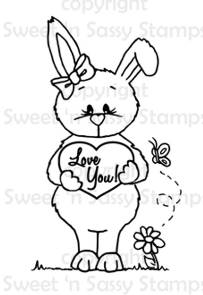 Love You Bethany Digital Stamp