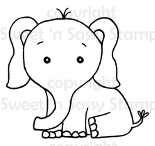 Edmund Elephant Digital Stamp
