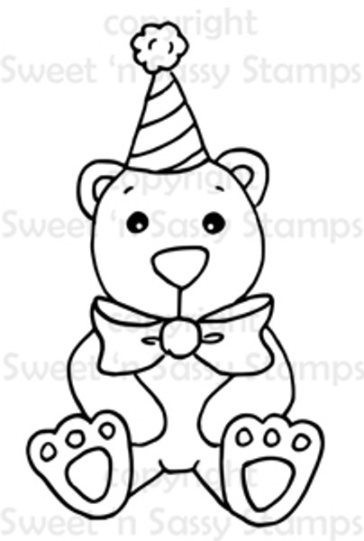 BoBo the Circus Bear Digital Stamp