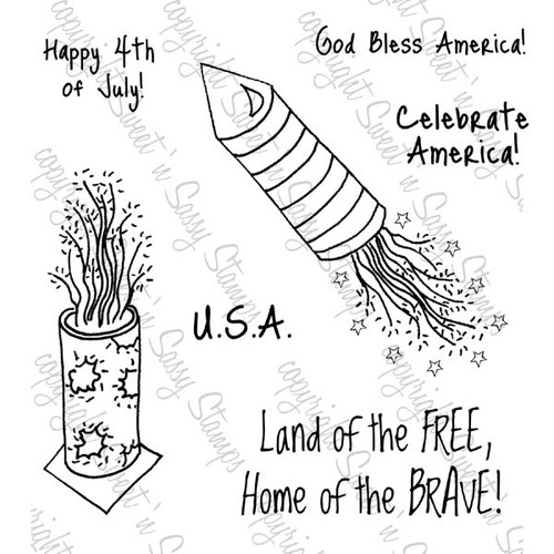 Celebrate America Digital Stamp Set