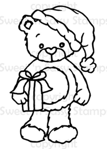 Rhubarb Santa Digital Stamp