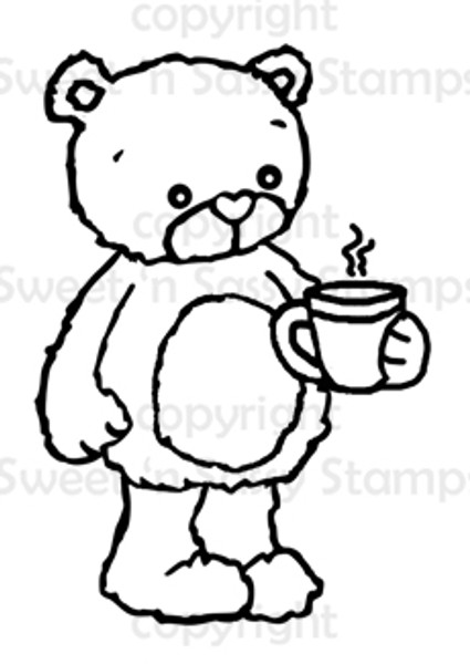 Rhubarb's Cuppa Joe Digital Stamp