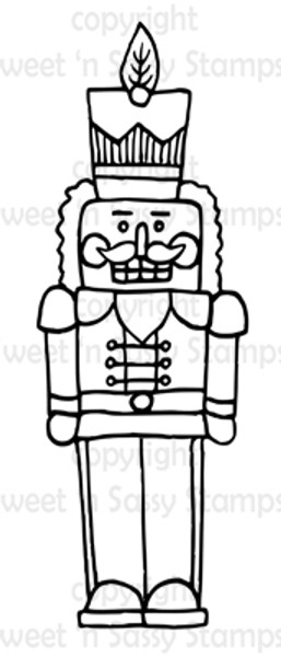 A Nutcracker for Evan Digital Stamp