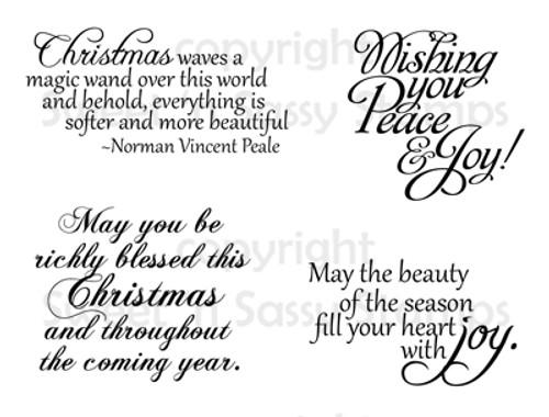 Christmas Greetings Digital Stamp Set