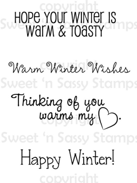 Winter Wishes Digital Stamp Set