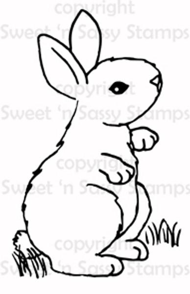 Bunny 1 Digital Stamp