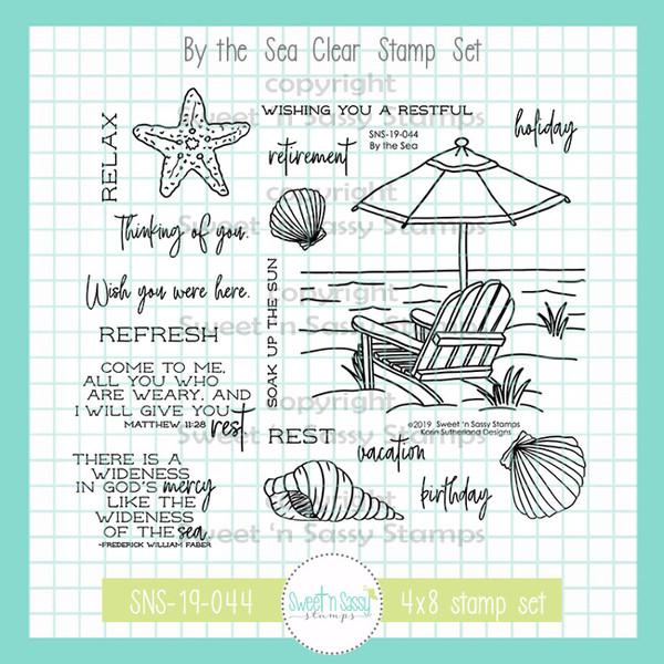 Sweet N Sassy Stamp Set - By The Sea