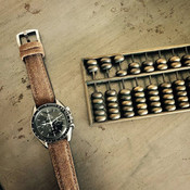 Bas and Lokes handcrafted suede watch strap