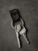 Bas and Lokes leather key fob