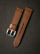 """""""Harrison"""" Whiskey Leather Watch Strap"""