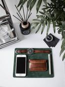 """Excelsior"" Russet Vintage Tan Leather Watch Strap"
