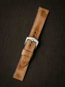 """Berkshire"" Natural Vintage Leather Watch Strap"
