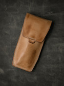 Bas and Lokes handcrafted leather watch pouch