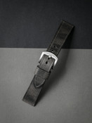 """""""Griffin"""" Vintage Ghost Grey Handcrafted Leather Watch Strap"""
