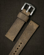 """Camden"" Light Oil Tan Suede Watch Strap - SOLD OUT"