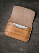 """Grant"" Vintage Natural Leather Wallet"