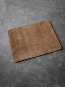 Bas and Lokes Medium Brown Suede/Leather Reversible Valet Mat