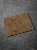 Bas and Lokes Tan Suede and Leather Reversible Valet Mat