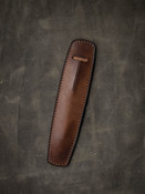 """Holmes"" Vintage Russet Leather Pen Sleeve"