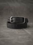 """Blake"" Ghost Grey Leather Double Wrap Bracelet"