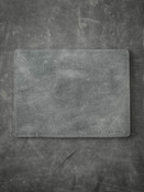"""Burton"" Grey/Green and Black Leather Reversible Valet Mat""Burton"" Grey/Green and Black Leather Reversible Valet Mat"