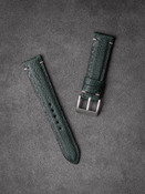 Green Ostrich Leather Watch Strap