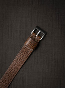 Whiskey Leather NATO Watch Strap