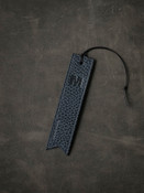 Monogrammed Leather Bookmark