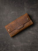 Tan Leather Watch Roll