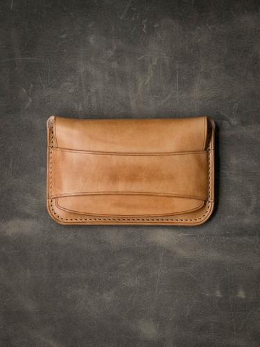 """Grant"" Vintage Natural Leather Wallet (TWO LEFT)"