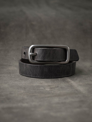 """Blake"" Ghost Grey Leather Double Wrap Bracelet"