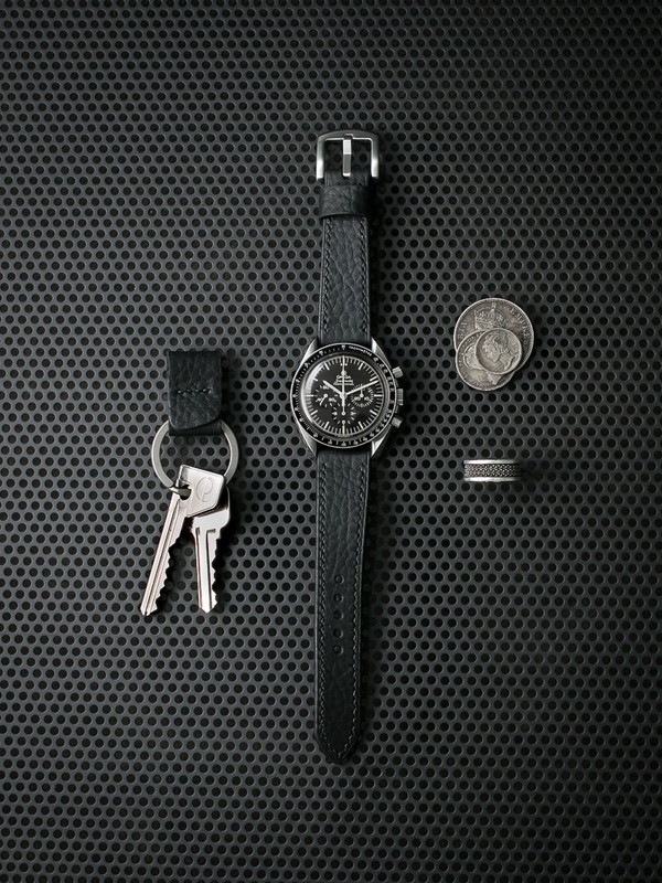 Bas and Lokes leather key fob
