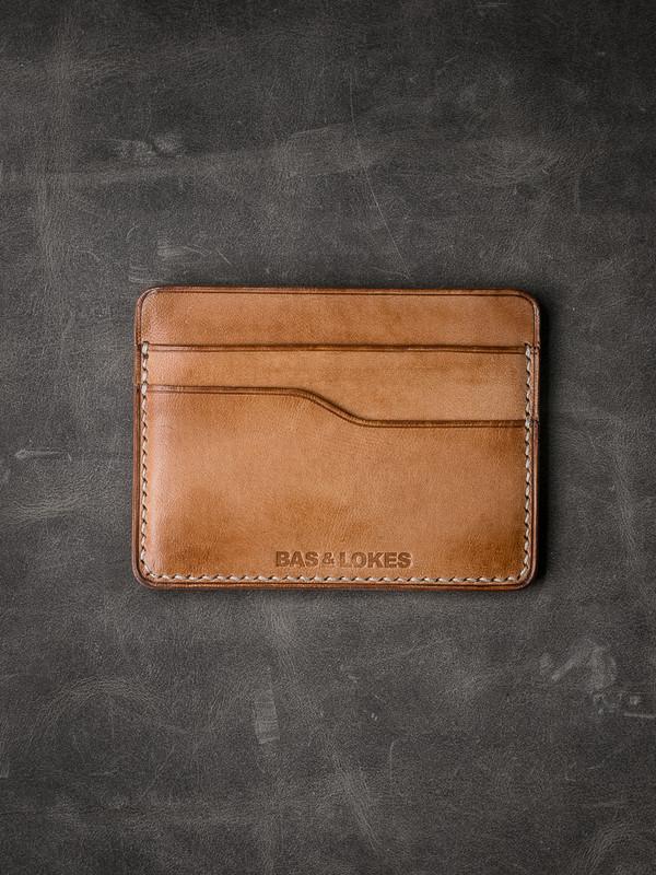 """""""Ford v2"""" Vintage Natural Slim Leather Wallet"""