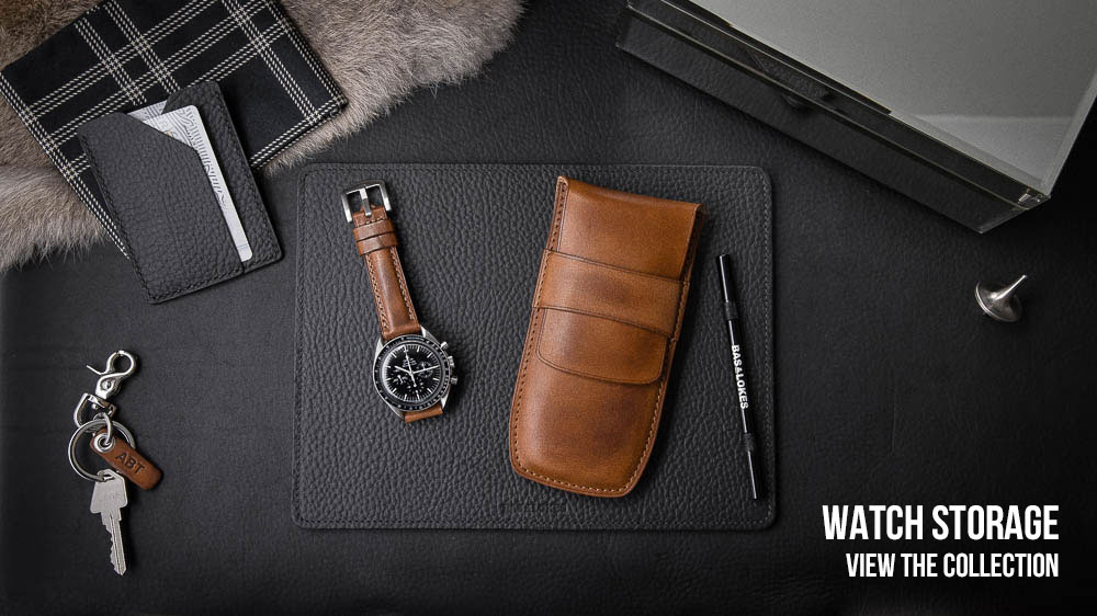 Leather Watch Storage and Pouches