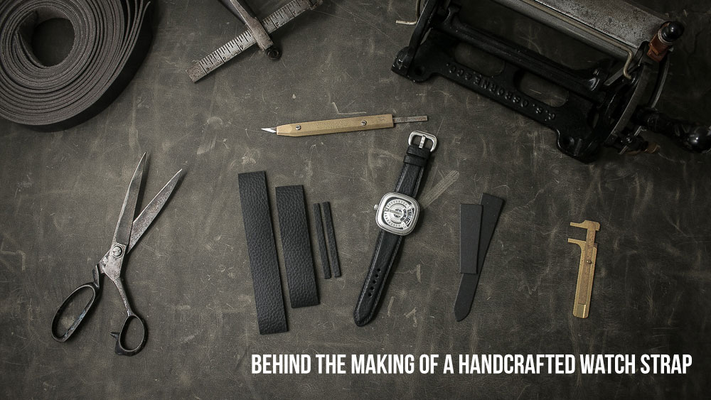 Behind The Making Of A Handcrafted Watch Strap