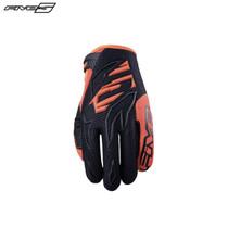 Five MXF3 Youth Gloves Black/Flo Orange