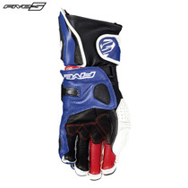 Five RFX1 Adult Gloves White/Blue