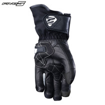 Five WFX Skin Waterproof Womens Adult Gloves Black/white