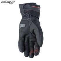 Five WFX2 Waterproof Adult Gloves Black/Red