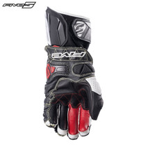 Five RFX Race Adult Gloves Black/White