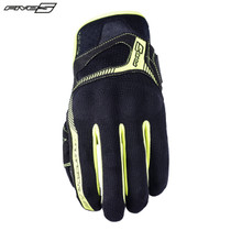 Five RS3 Adult Gloves Black/Flo Yellow