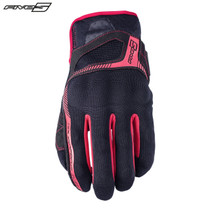 Five RS3 Adult Gloves Black/Red
